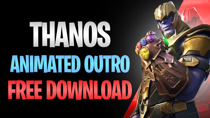 Fortnite Thanos Animated Outro