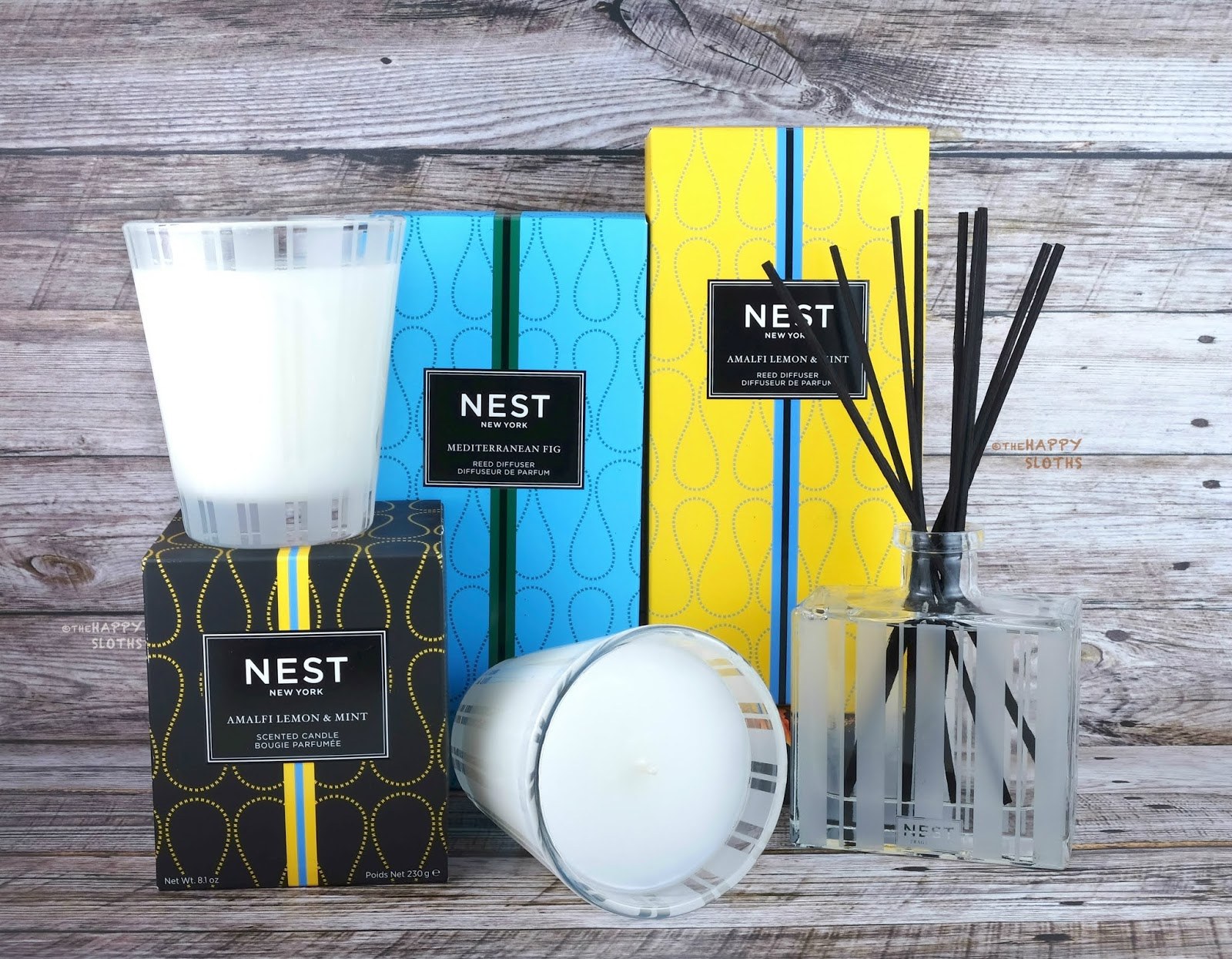 NEST Fragrances | Amalfi Lemon & Mint and Mediterranean Fig Home Fragrance Collections: Review
