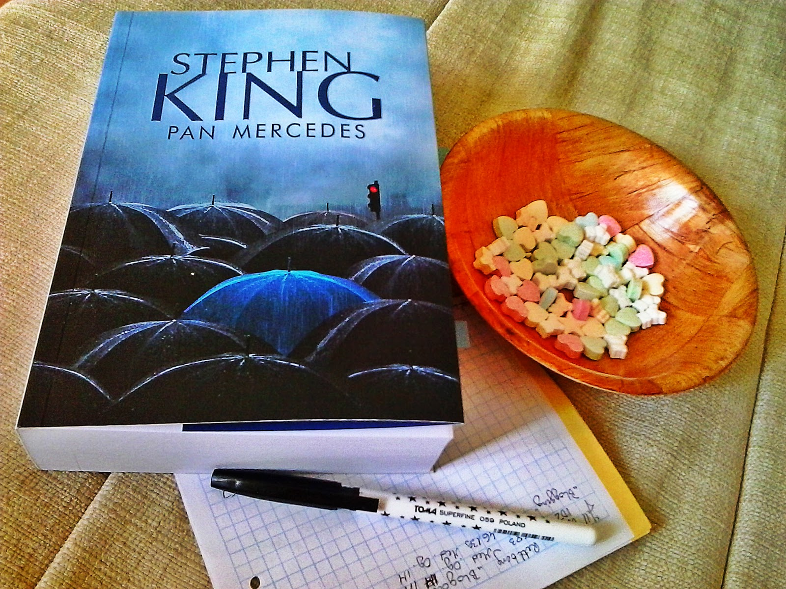 "Stephen King ""Pan Mercedes"""