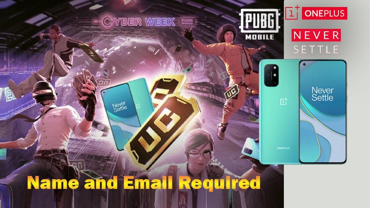 PUBG Mobile Cyber Week