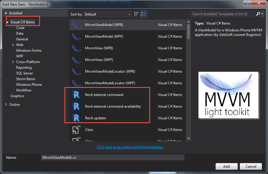 New Free Alternative Visual Studio C# Project Templates for