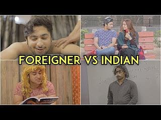 Foreigner Vs Indian Youtube Harsh Beniwal