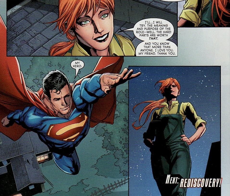 Supergirl Comic Box Commentary: Review: Superwoman #9