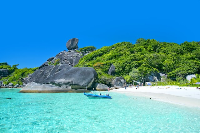 The Similan Islands - one of the most interesting diving areas in the world