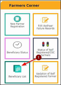 pmkisan.gov.in Beneficiary Status
