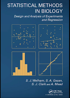 Statistical Methods in Biology, Design and Analysis of Experiments and Regression