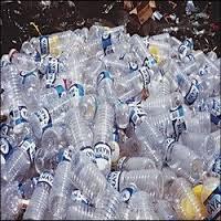 Alat pengepress sampah botol plastik