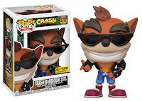 Funko Pop! Crash Bandicoot Biker Outfit Hot Topic