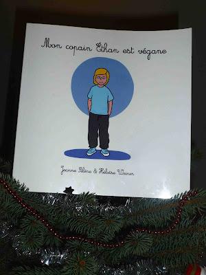 album jeunesse pour un Noël vegan