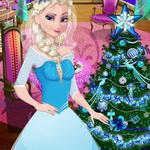 لعبة تزيين شجرة الكريسماس