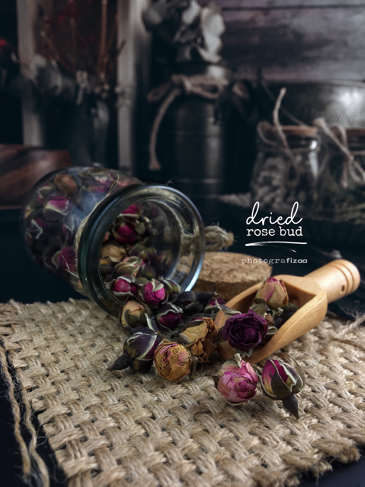 Dried Rose Tea