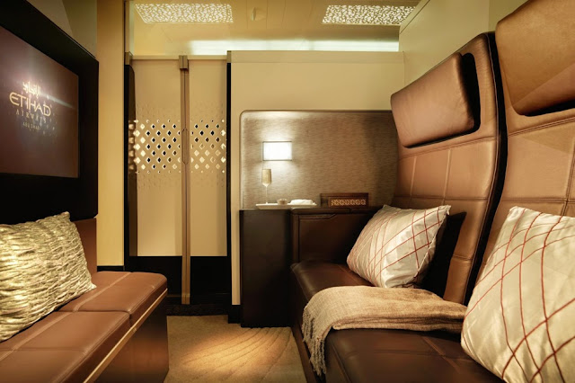 Etihad Airways salon