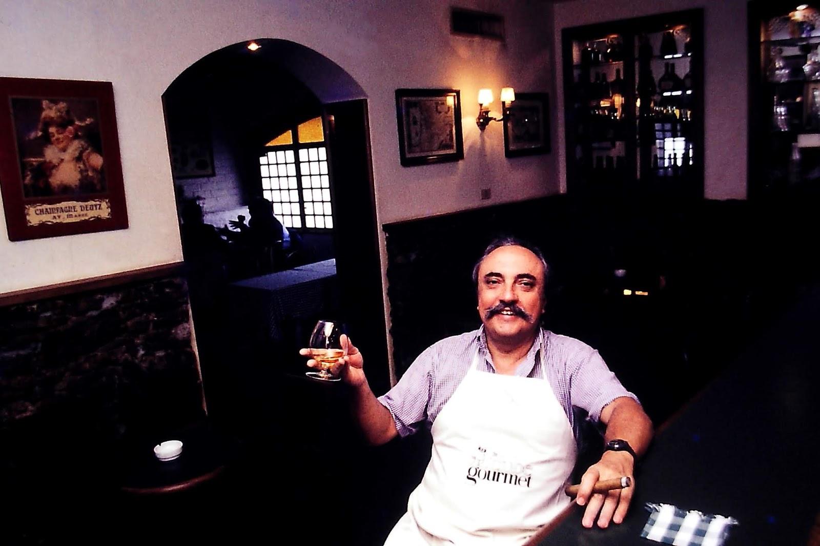 170f100fd5 José Hugo Celidônio no Club Gourmet - Rio