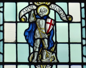 A Clerk of Oxford: Stained Glass for St George's Day