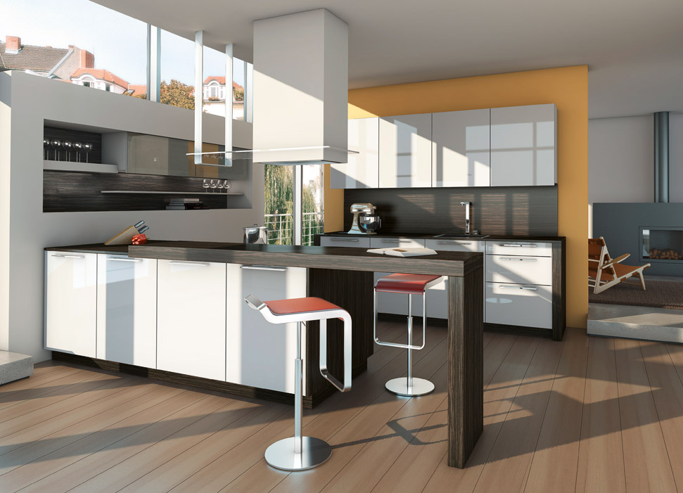 Hogares frescos una fuente de inspiraci n 25 dise os de for Diseno de interiores de cocinas pequenas modernas