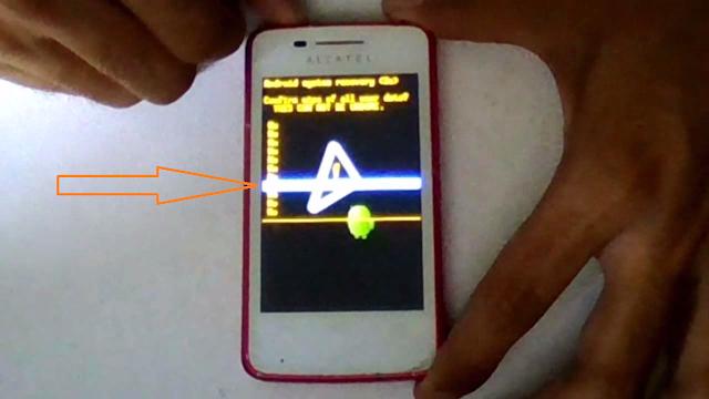 eliminar los datos del teléfono alcatel
