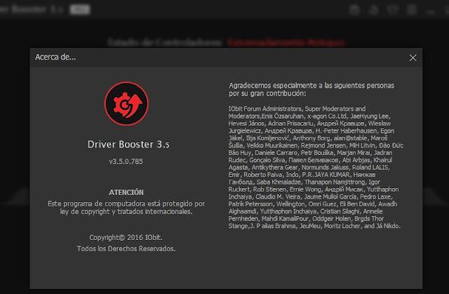 IOBit Driver Booster 3.5.0 Final Español