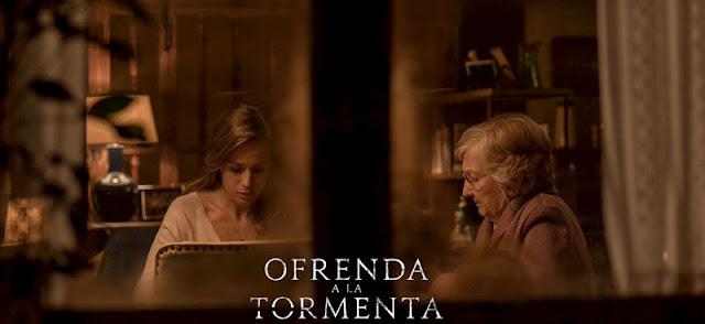 'Ofrenda a la tormenta' se estrena en cine el próximo 27 de Marzo