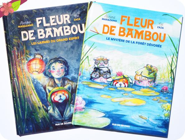 Fleur de Bambou - Le mystère de la forêt dévorée