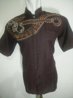 Baju Koko Triji Lengan Pendek