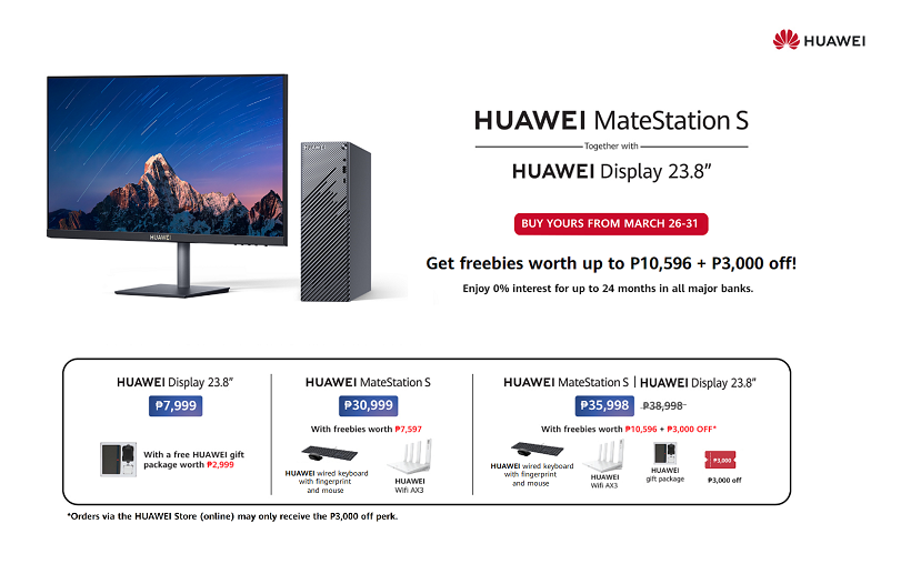Huawei Mate Station S, World's First Fingerprint Power on Desktop, now available