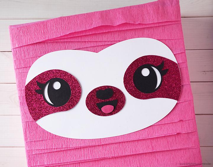Sloth Valentine Card Box