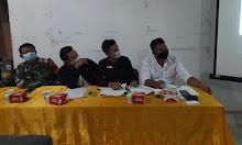 Panitia Pemilihan  Calon Kepala Desa sukabangun Laksanakan Rapat Penetapan Jadwal Kampanye