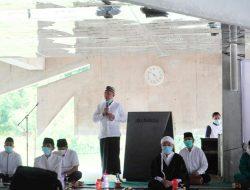 Sulthonul Mursid Syeih KH.Sirojudom Ilyas Al-Arif Billah Pimpin Do'a Bersama Dalam Rangka Hut Tubaba Ke-12