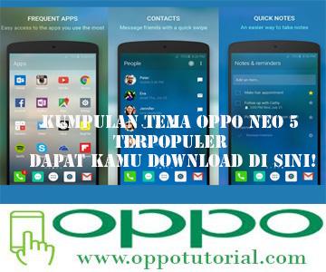 Tema OPPO Neo 5