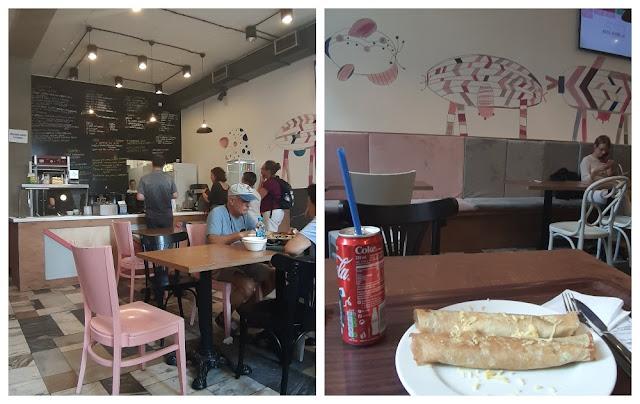 Onde comer bem e barato na Polônia - Milkbar Rozowa em Wroclaw/Breslávia