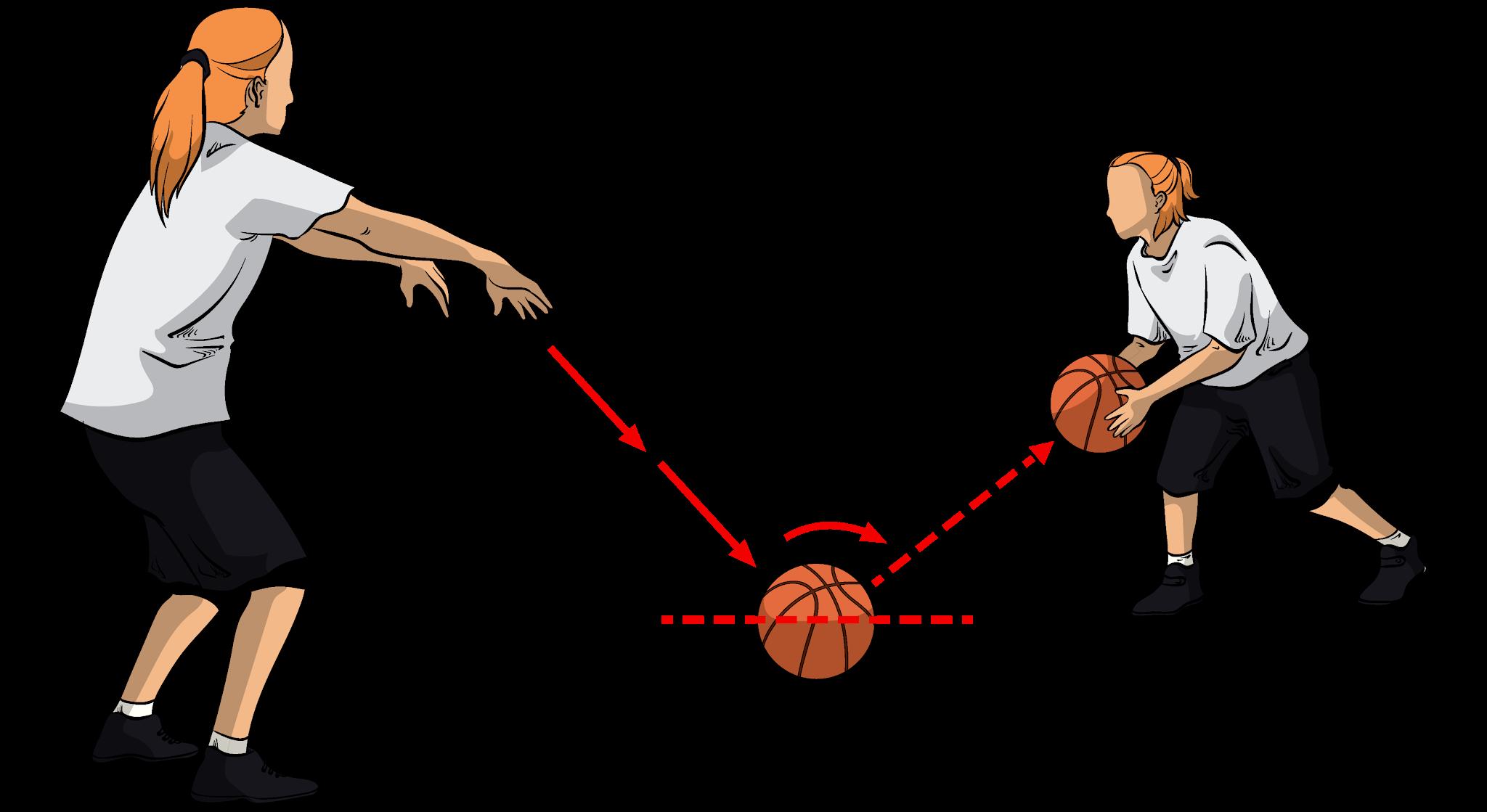 Pengertian Bounce Pass Bola Basket Beserta Cara Melakukan Penjasorkes