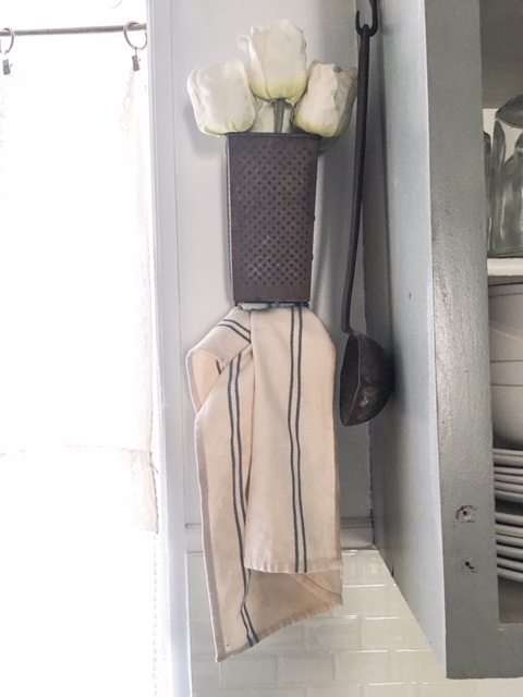 diy kitchen towel holder