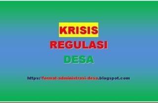"<img src=""https://1.bp.blogspot.com/-3S6aHmlZyYI/XPFKLdieSKI/AAAAAAAAA9g/hTmxZ1GG9WUDdgZ15hTmwuBUs1jtbwiDQCLcBGAs/s320/krisis-regulasi-di-desa.jpg"" alt=""krisis regulasi di desa, krisis hukum""/>"
