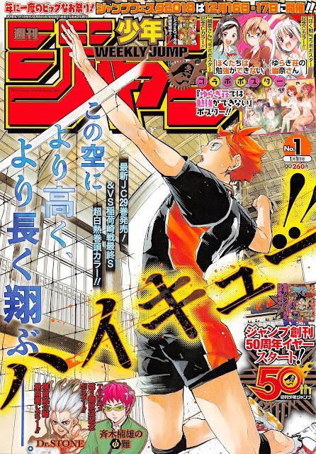 Weekly Shonen Jump primera edición del 2018