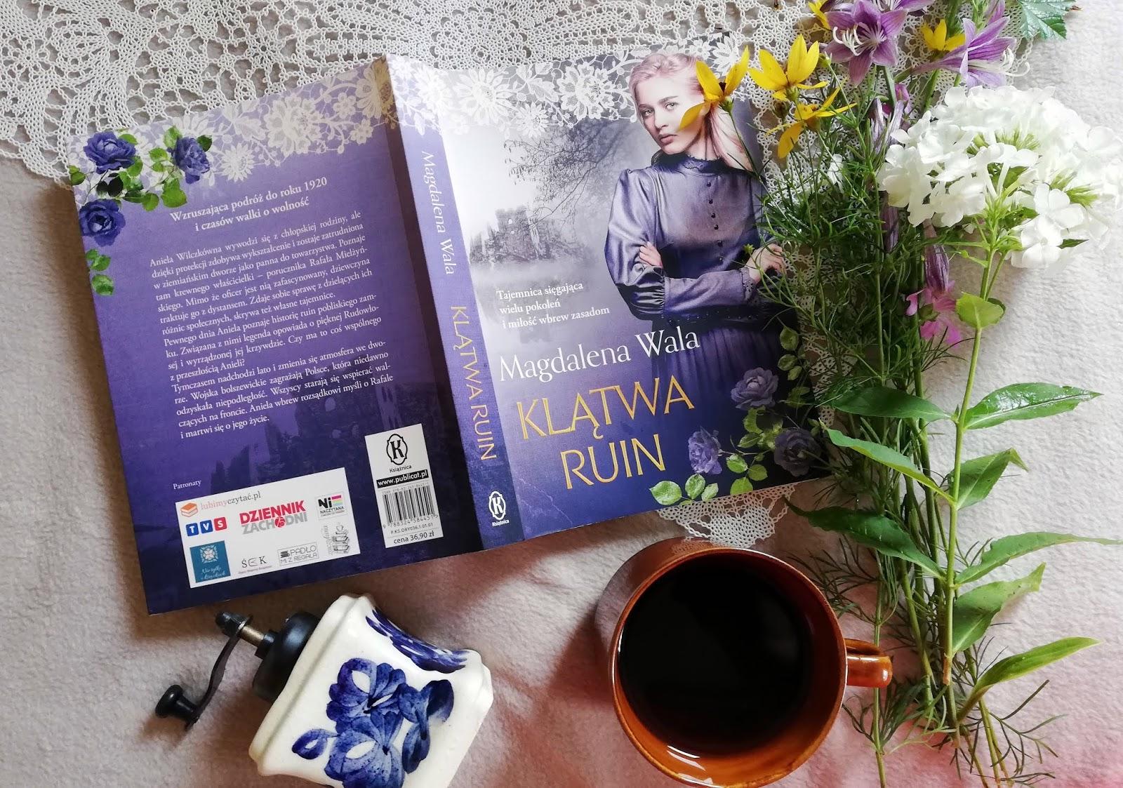 """Czego dotyczy """"Klątwa ruin"""" Magdalena Wala"""
