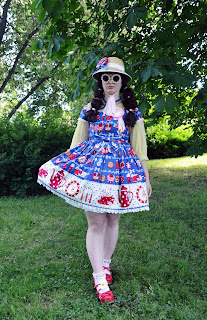 Lolita Meet-up Stockholm International Lolita Day Mintyfrills Kawaii Sweet