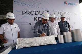 Capai Produksi Aluminium Ke- 8 Juta Ton, Oggy : Terima Kasih Insan Inalum