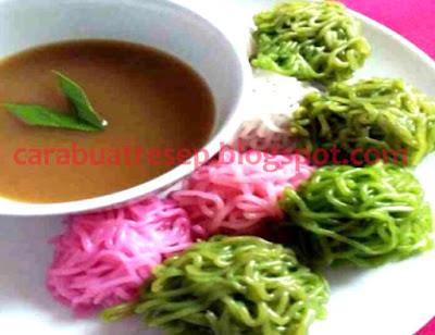 Foto Resep Putu Mayang Tepung Kanji Warna Warni Sederhana Spesial Asli Enak
