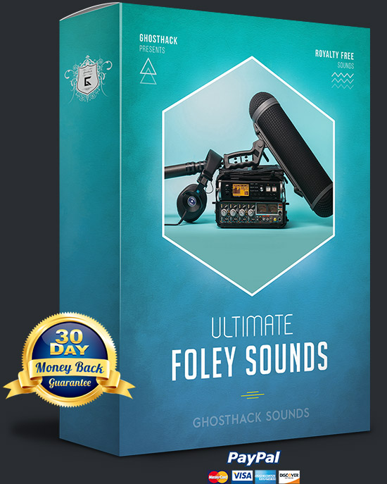 Ultimate Foley Sounds[Ghosthack][Sound Effects]