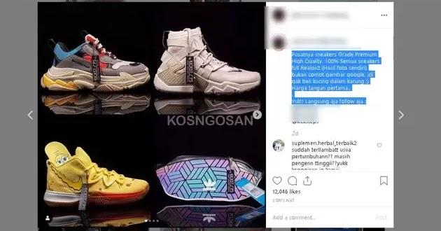 Contoh Caption Instagram Untuk Promosi Jualan Produk Kosngosan