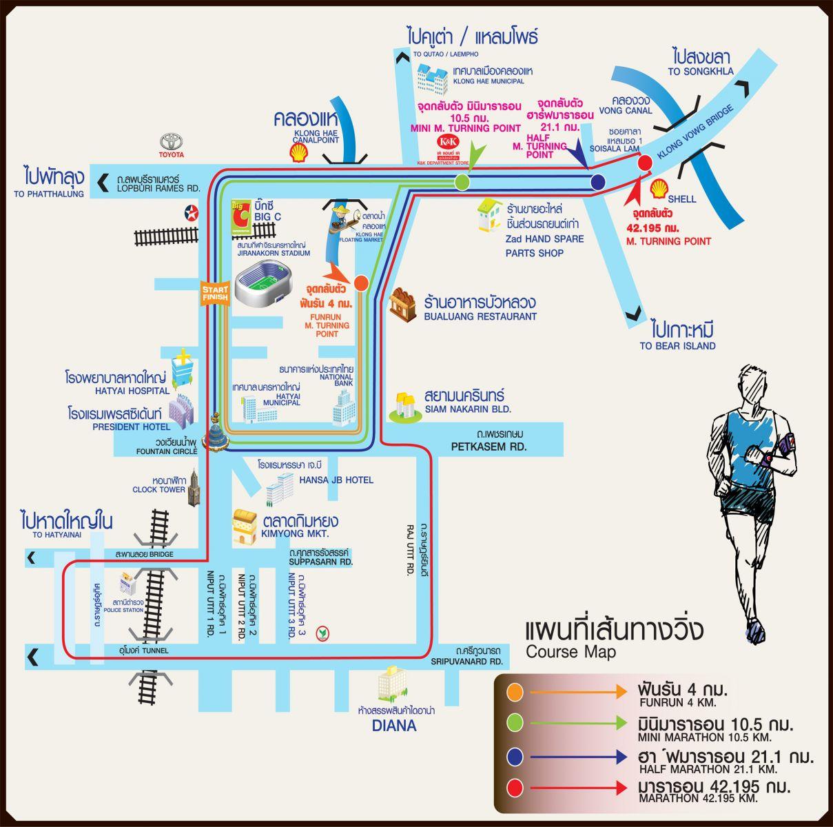 Race report Hatyai Marathon 2017 S chwmong