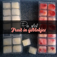 Fruit in ijsblokjes - Pin getest