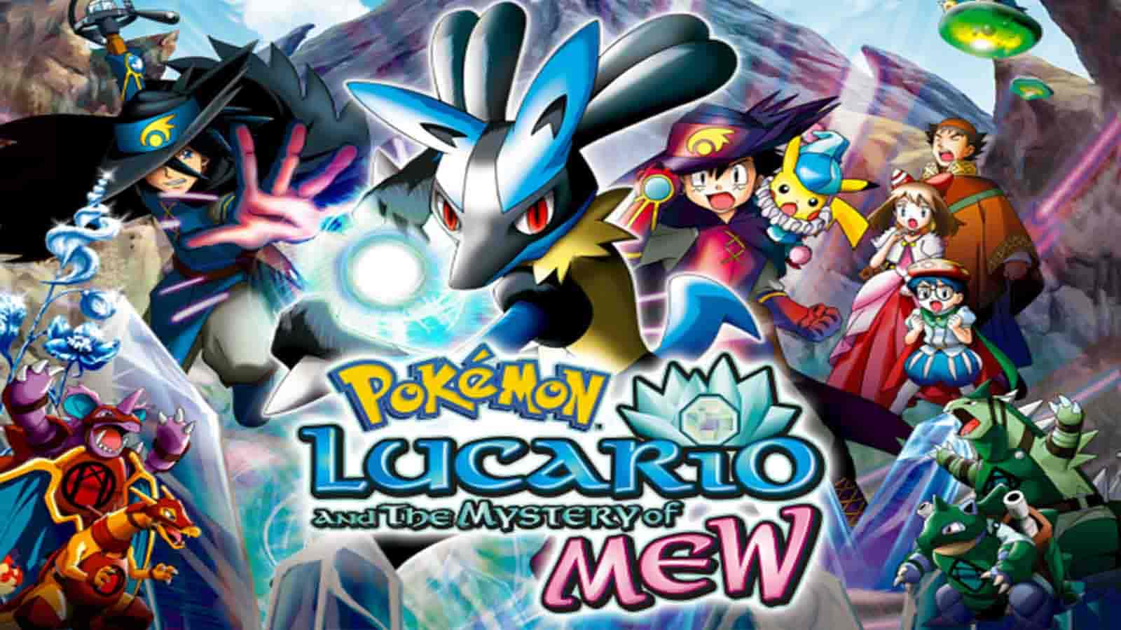 Pokemon Movie 8 Lucario Ki Toofani Shakti Hindi 360p 480p 720p 1080p Download
