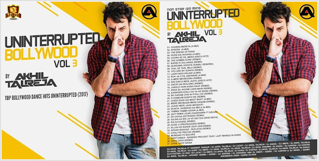 UnInterrupted Bollywood Vol.3 – DJ Akhil Talreja