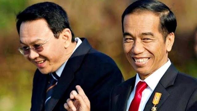 "Kecurigaan besar umat Islam terhadap RUU Omnibus law cipta kerja sebagai 'jembatan emas' bagi Ahok untuk menjadi Presiden 2024. Apalagi Ahok mendapat ""perlakuan"" istimewa dari rezim yang berkuasa. Bahkan pejabat militer dan sipil konon banyak yang ""takut"" sama Ahok. Konon pula kartu truft Jokowi juga ada di Ahok."