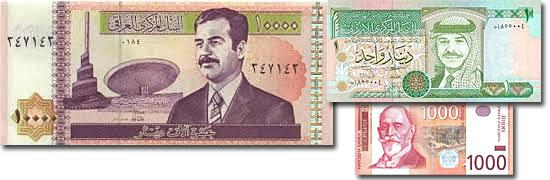 Dinheiro do mundo -Dinar