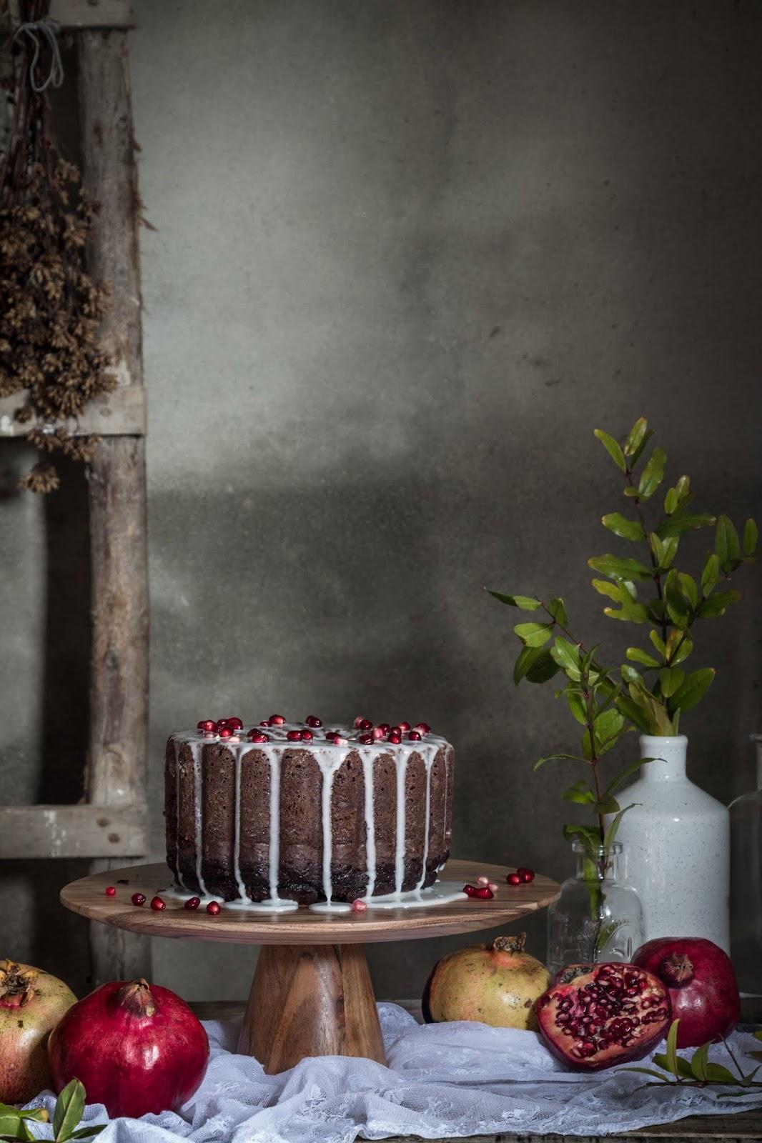 Receita de bolo de chocolate fácil