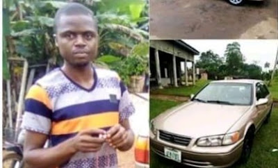 Mechanic Allegedly Flees With Customer's Car In Imo State (Photos)