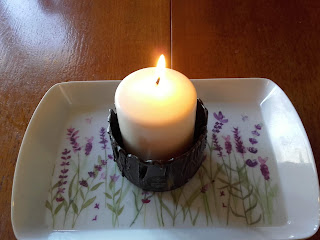 white candle for Advent