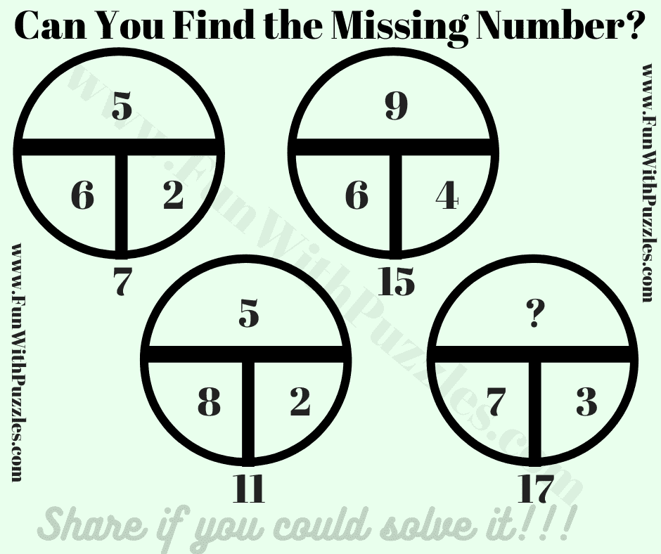 Can you solve this logical question?
